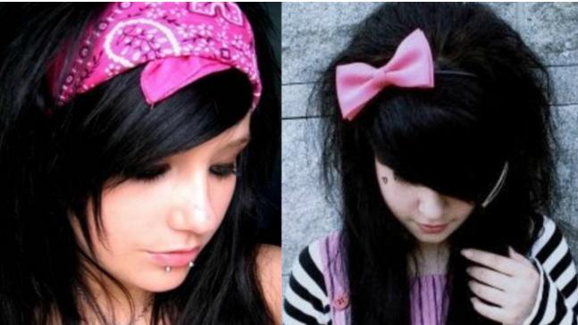 Chicas Emos Recuerdas cuando te vestías de esta manera? (Fotos)