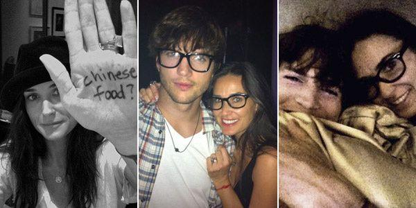 Demi Moore+Ashton Kutcher