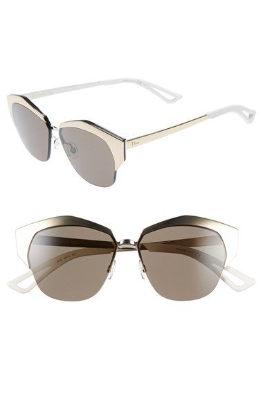 578ed9e35428 Dior  Mirrors  55mm Cat Eye Sunglasses available at  Nordstrom ...