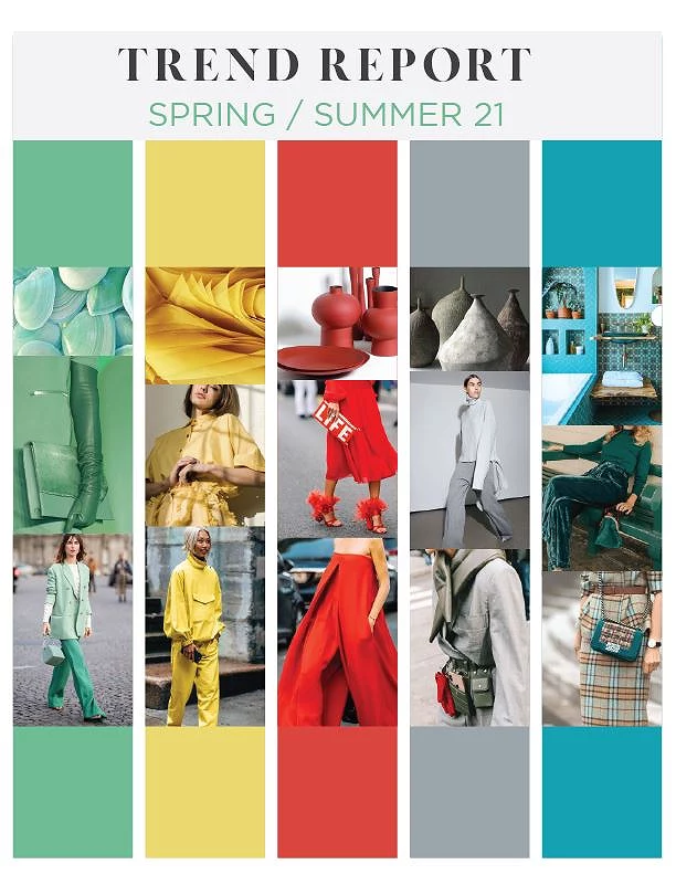 SPRING / SUMMER 2021 TREND COLOR FORECAST SS21