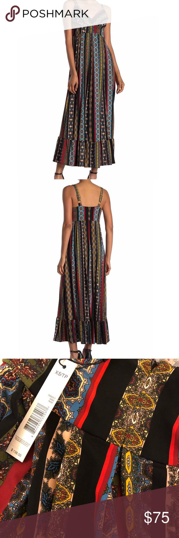 T Tahari Nwt Maxi Dress Clothes Design Maxi Dress Colorful Dresses [ 1740 x 580 Pixel ]