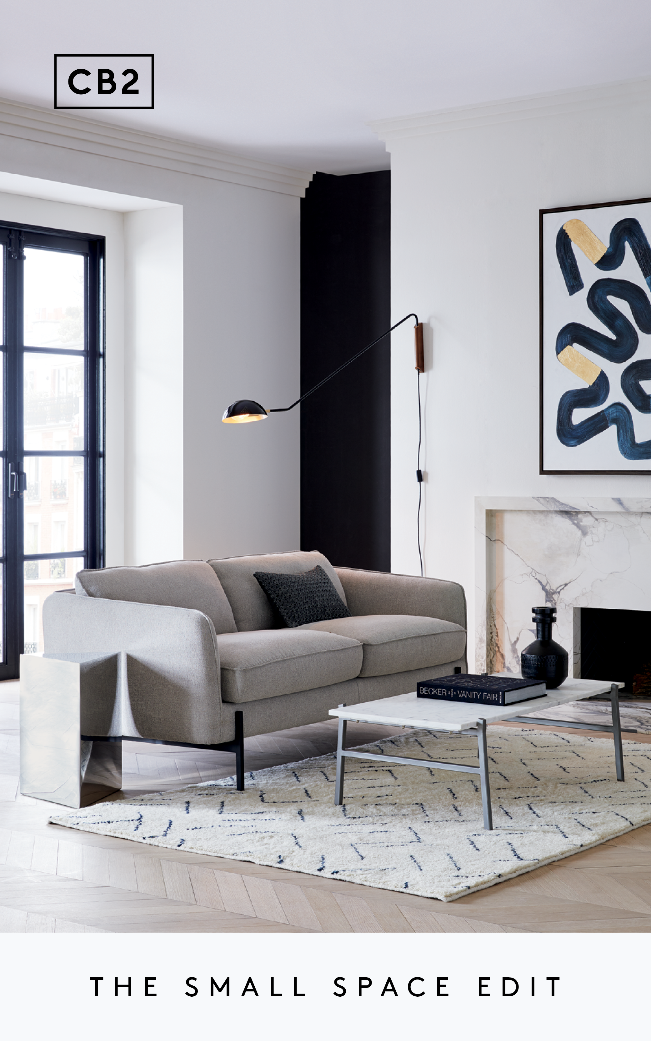The Small Space Edit In 2020 Modern Living Room Interior Furniture For Small Spaces Living Room Designs #small #space #living #room #decor