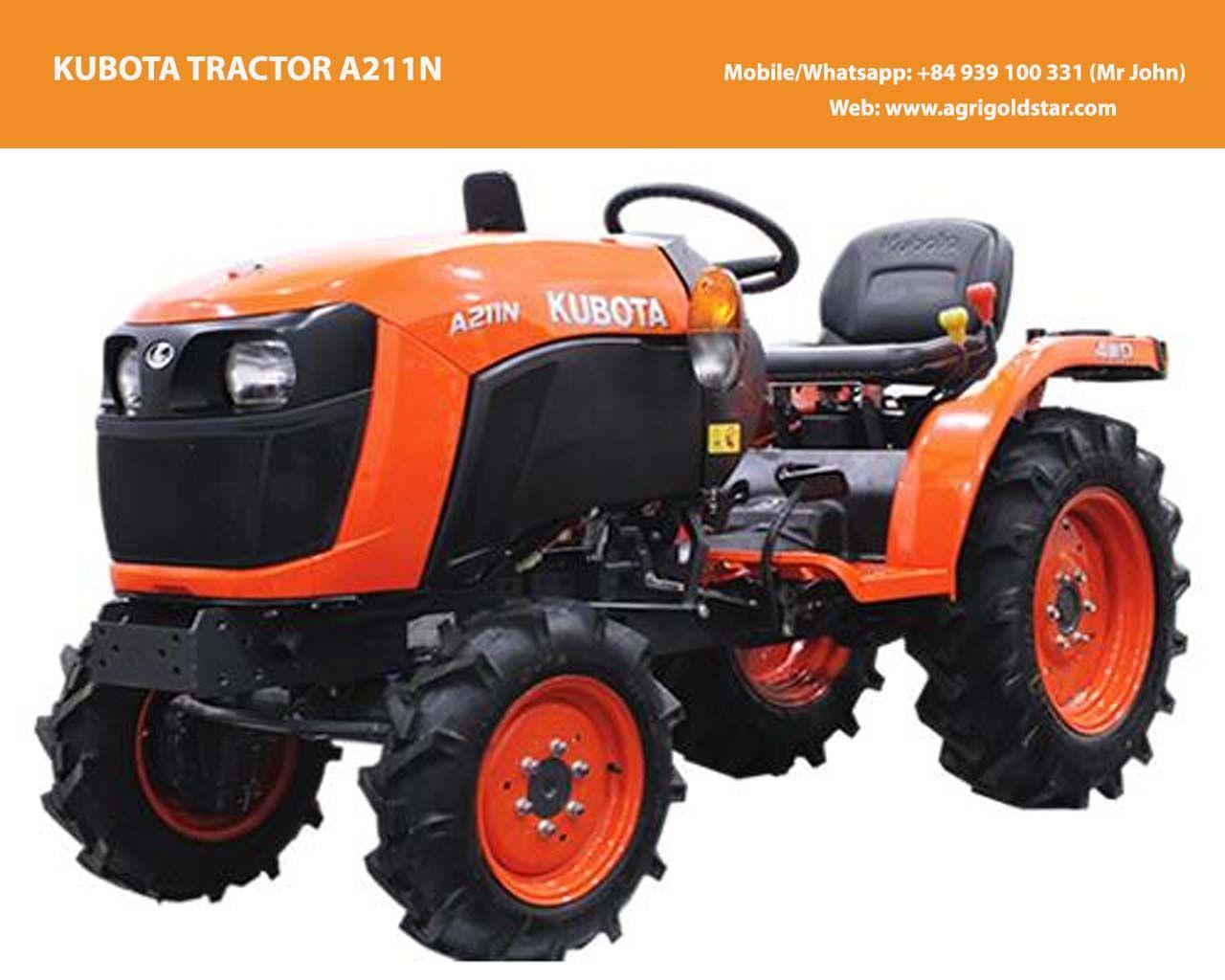 Kubota Tractor A211N - Neostar A221N (21HP) Kubota design by