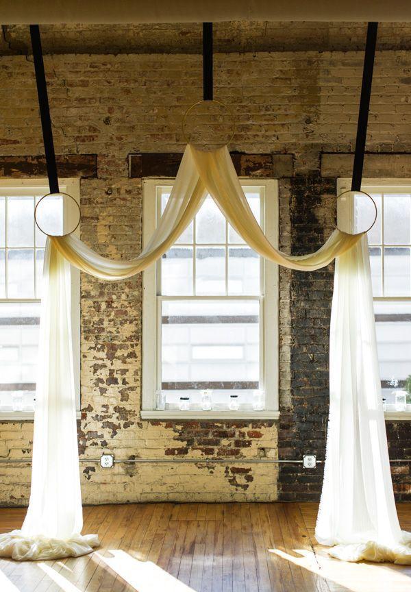 Simple Wedding Backdrop Ideas