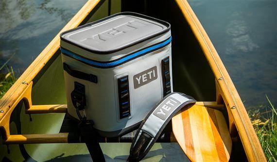 Yeti Hopper Flip 12 Cooler - Fog Gray/Tahoe Blue