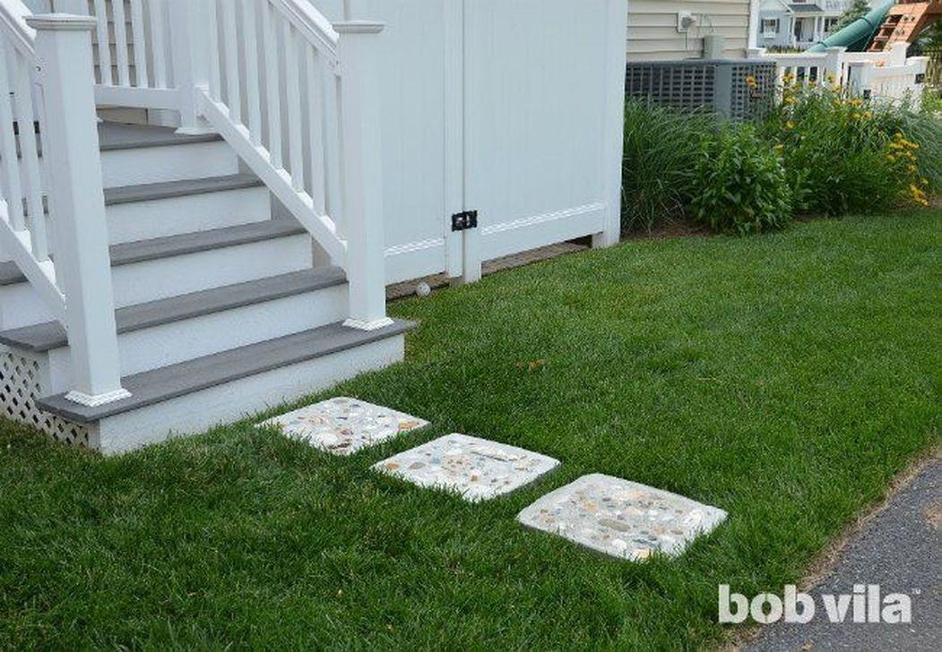 Stylish Stepping Stone Pathway Décor Ideas 37 - 99BESTDECOR #steppingstonespathway