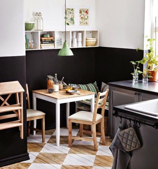 2015 Midsummer Ikea S Dream Small Kitchen Tables Half Painted