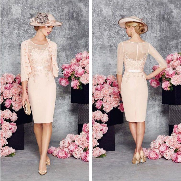 The Mother of Bride Dress Pink eBay