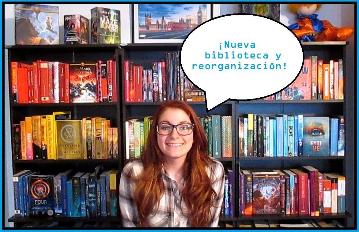 Muchos libros nueva estantera y reorganizacin Espaol