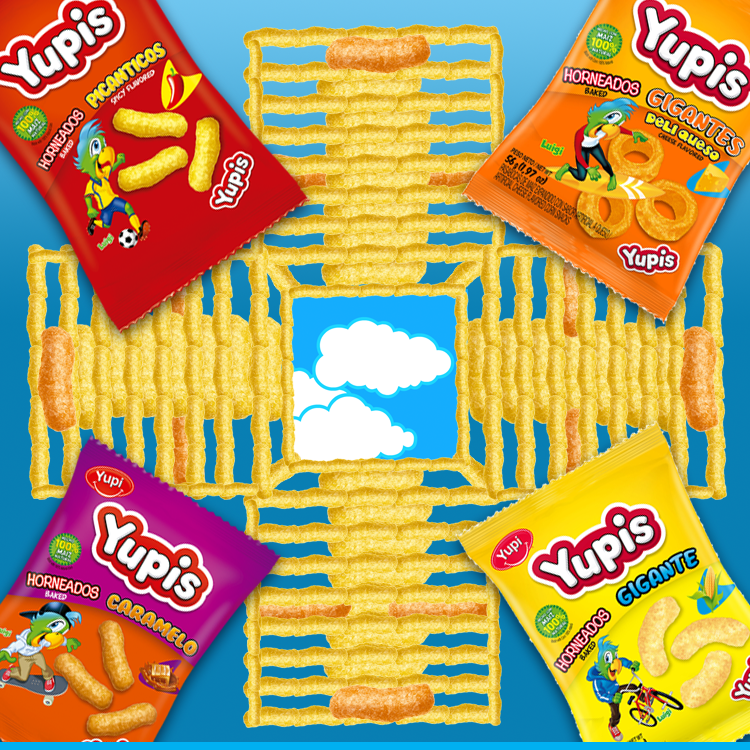 """¡Jugando parqués! ¿Con cuál de tus #Yupis te gustaría llegar al cielo? Yupis """"#LaFormaDivertidaDeAlimentarte"""""""