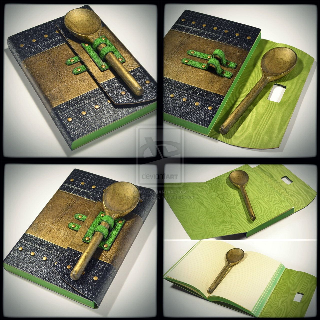 Gilded Spoon Cook Book... By Alexlibris999