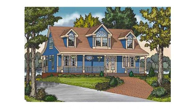 Country Style House Plan 4 Beds 3 Baths 1673 Sq Ft Plan 314 273 Country Style House Plans House Plans Architectural Design House Plans