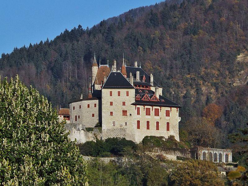 Chateau De Menthon Saint Bernard Haute Savoie Chateau The Wonders