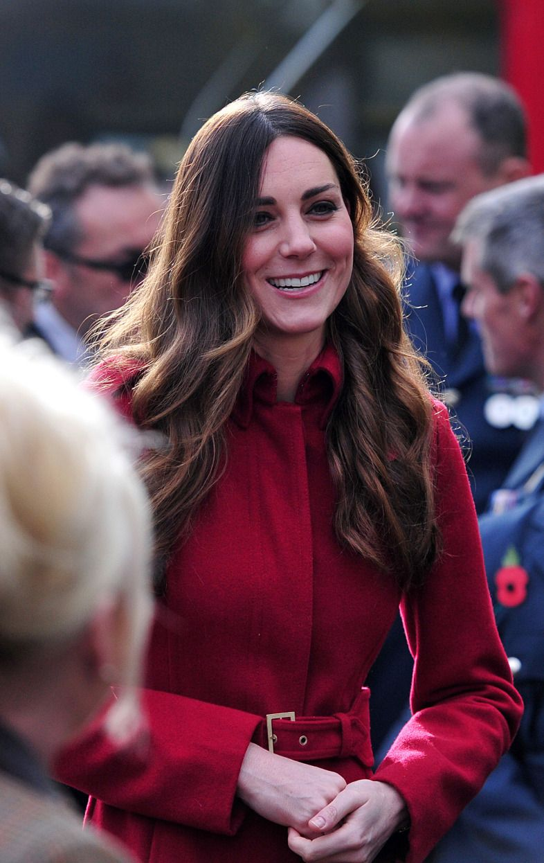 Kate Middleton Is Photographed In London With Grey Hair! | Radar Online