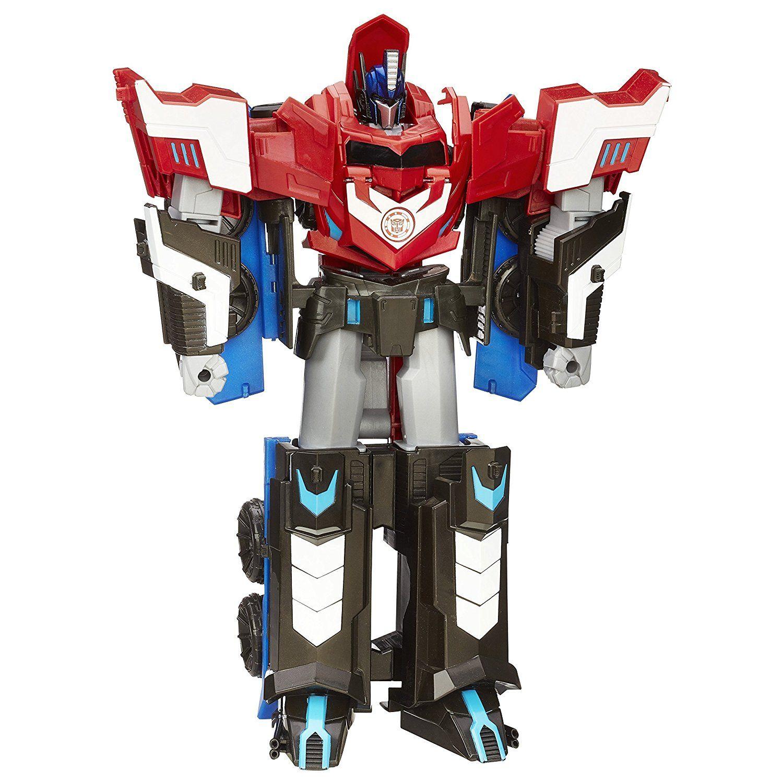 Hasbro Transformers B1564eu4 Robots In Disguise Mega Optimus Prime Actionfigur Amazon De Spielzeug Roboty
