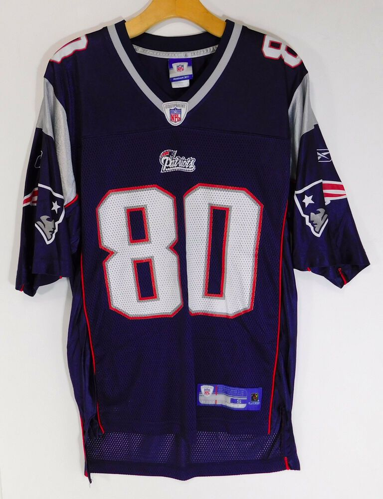 New England Patriots Troy Brown 80 Nfl Jersey Blue Reebok Men S Small 44 00 End Date Saturday Mar 2 2 Jersey Patriots New England Patriots Jersey