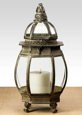 15 12in Black Patina Glass Top Lantern (With images