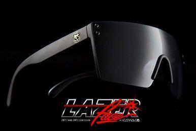 4a65ae803f HeatWave Visual - Lazer Face Sunglasses - Black Lens