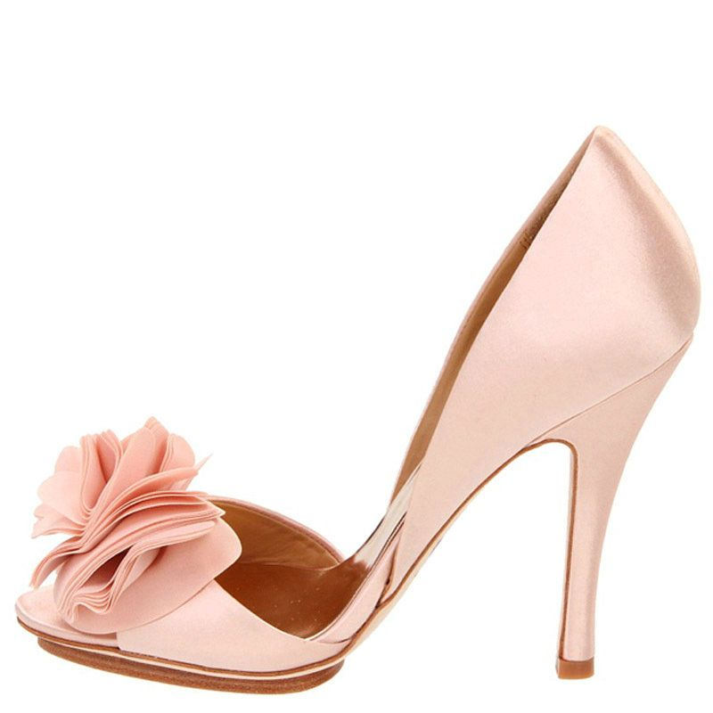 Lovely Pink Wedding Shoes
