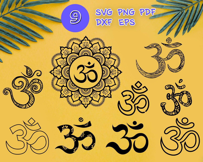 Om Svg Yoga Svg Om Symbol Svg Meditation Svg Zentangle Etsy Symbols Svg Om Symbol