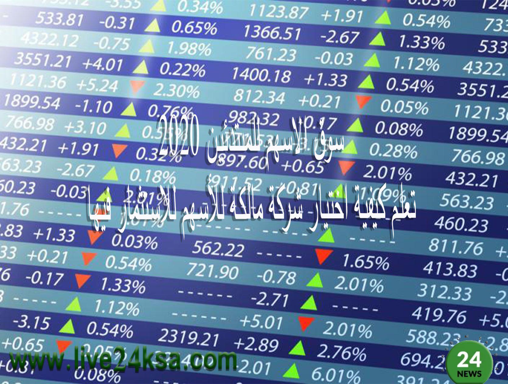 سوق الاسهم للمبتدئين 2020 تعلم كيفية اختيار شركة مالكة للأسهم للاستثمار فيها Periodic Table Roberta