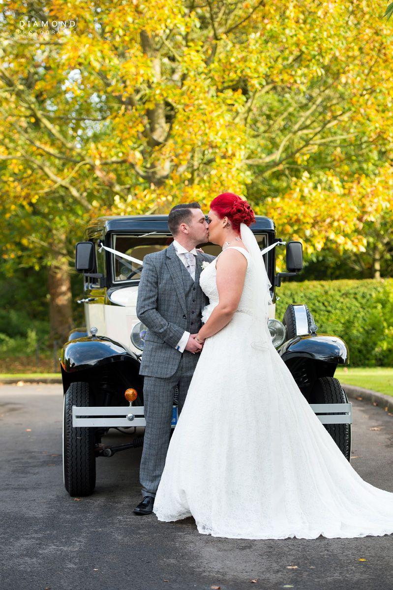 Beautiful autumn colours at shotton hall beautiful wedding photos