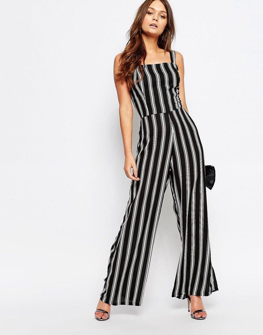 0d60a86108d Image 1 of New Look Stripe Jumpsuit