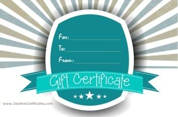 Gift Certificate Template Free Printable Gift Certificates Gift Certificate Template Free Gift Certificate Template