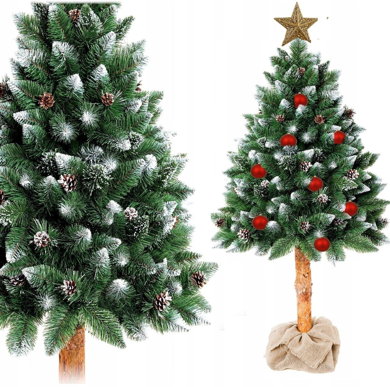 Choinka Sztuczna Na Pniu Sosna Diamentowa 180 Cm 7535742600 Oficjalne Archiwum Allegro Holiday Decor Christmas Tree Christmas