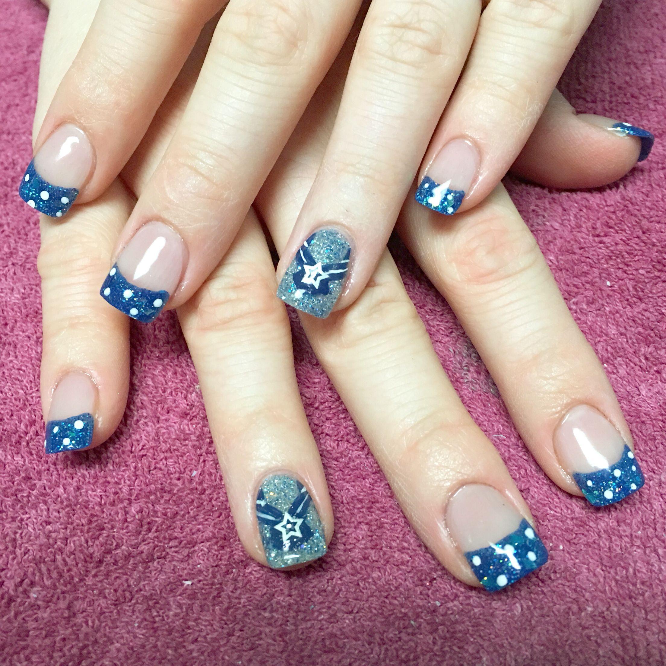 Air Force nails Airman nail art NailsbyAmyb nailsbyamyb