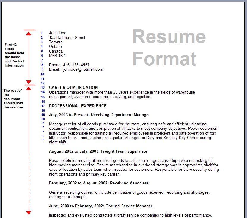 Pattern Of Resume Format Format Pattern Resume Resumeformat Resume Format Examples Best Resume Format Resume Template Word