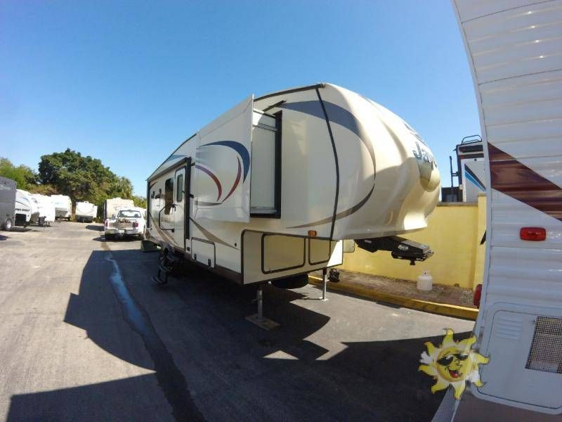 Used 2015 Jayco Eagle Ht 26 5rks 5th Wheels For Sale In Fort
