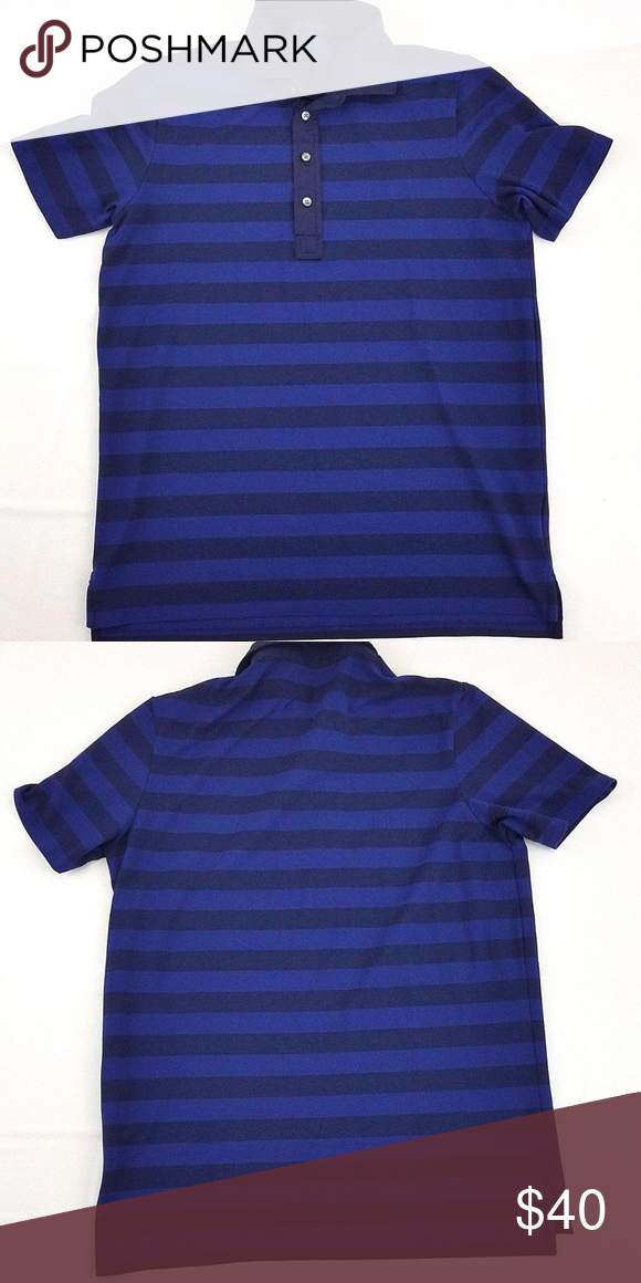 467e141f Greyson Blue Striped Short Sleeve Polo Shirt You are buying a Greyson  Garment Style: Polo