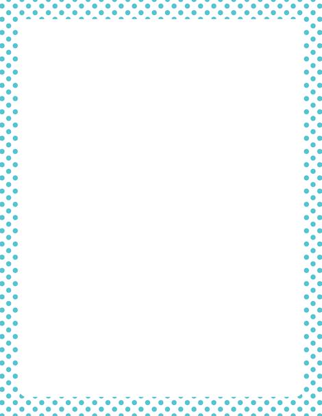 Printable blue and white polka dot border free gif jpg pdf and printable blue and white polka dot border free gif jpg pdf and voltagebd Images