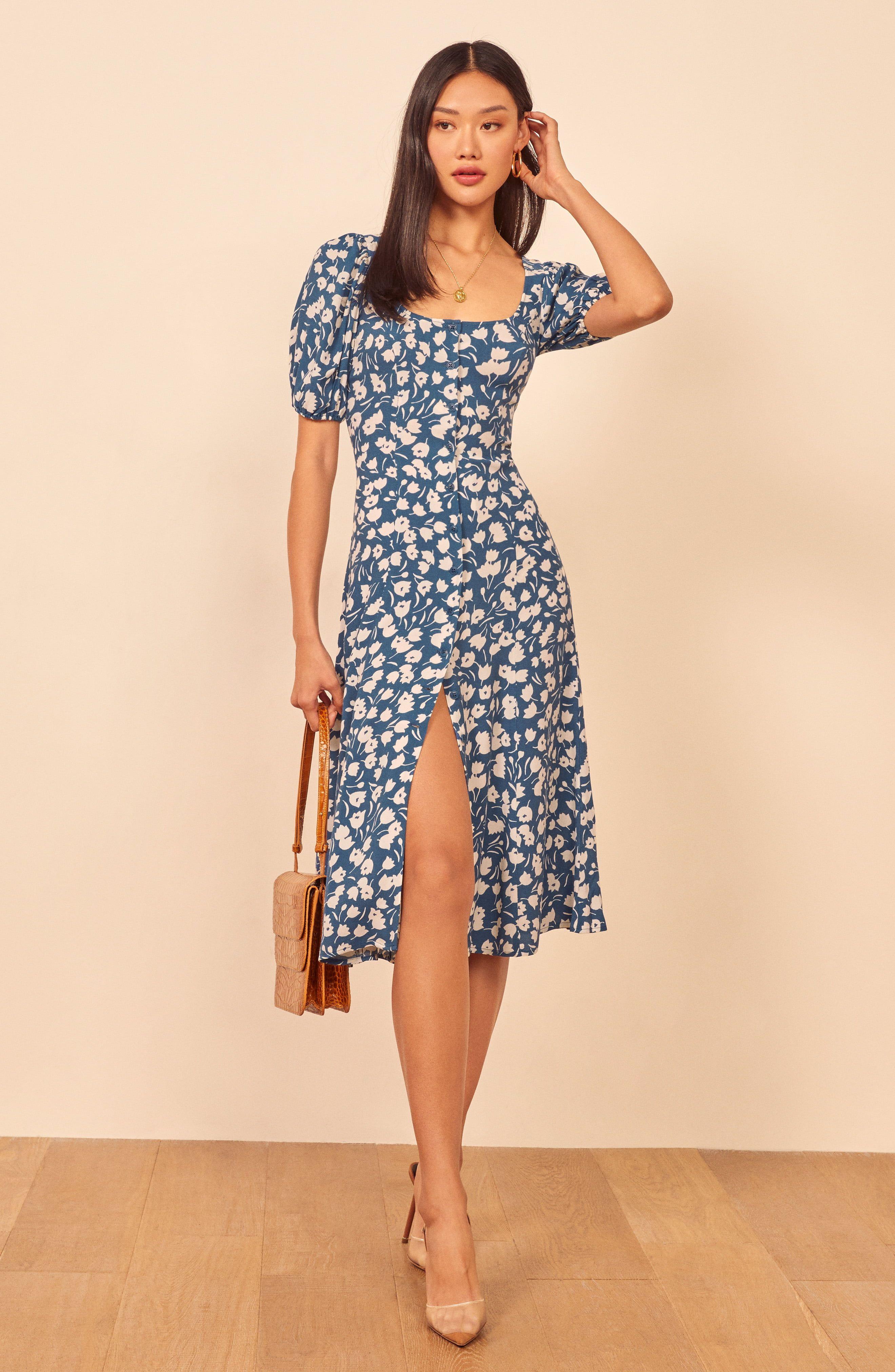 Beechwood Floral Midi Dress