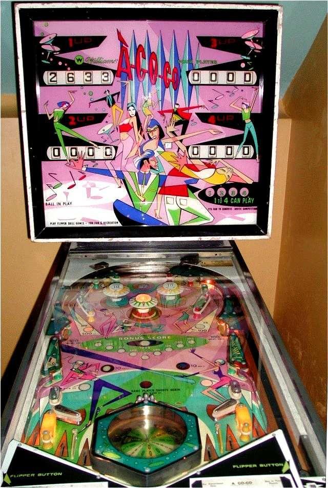 agogo 1966 pinball machine Google Search Pinball