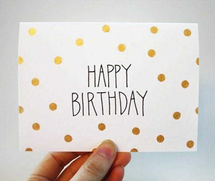 decoration carte anniversaire