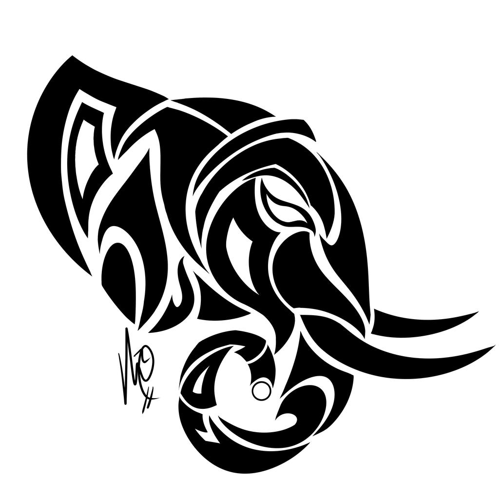 Tribal Elephant Tattoo Head Photo 11 Elephant Tattoo Tribal Tribal Animal Tattoos Elephant Tattoos