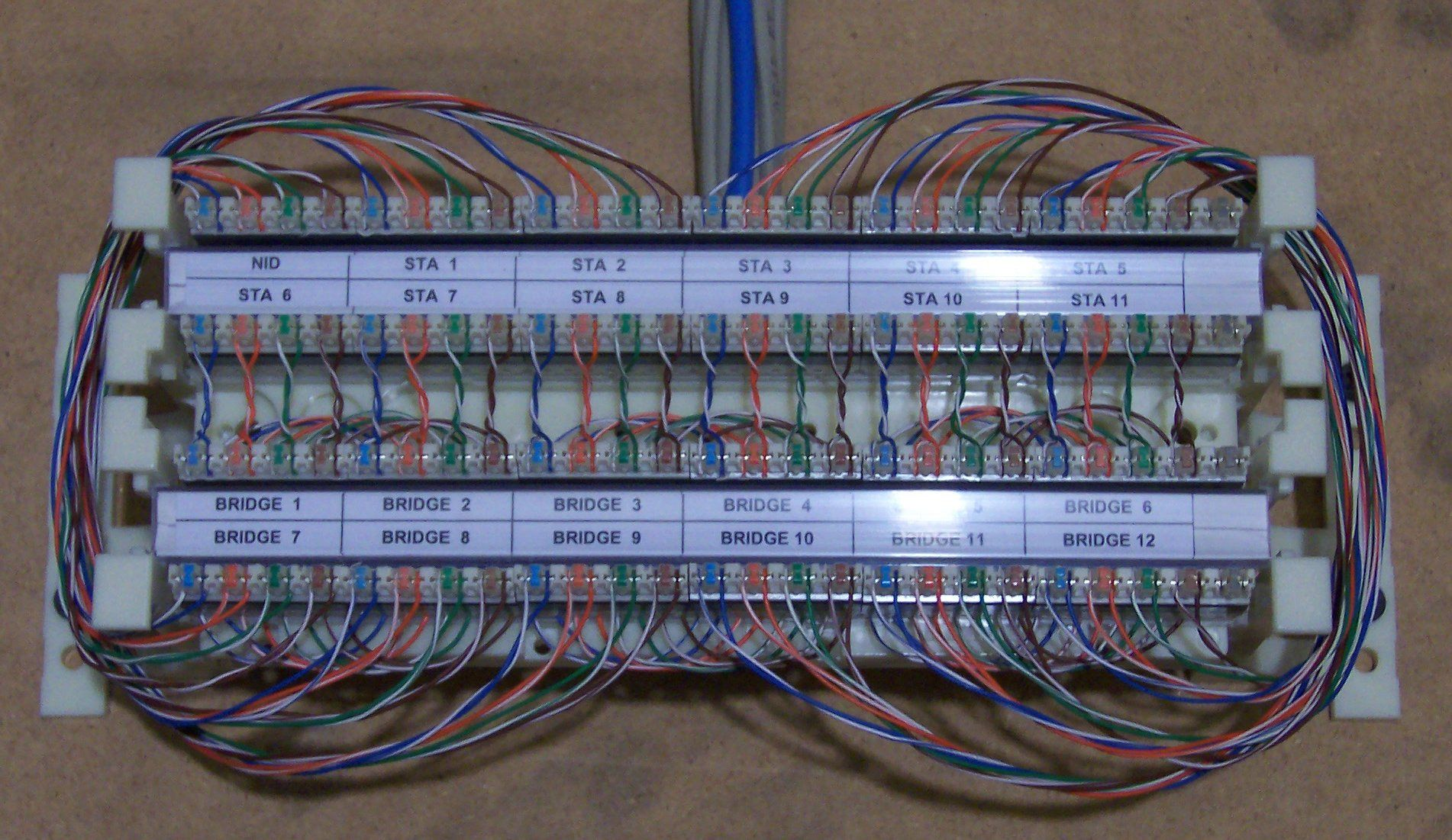 66 Block Wiring Diagram 25 Pair