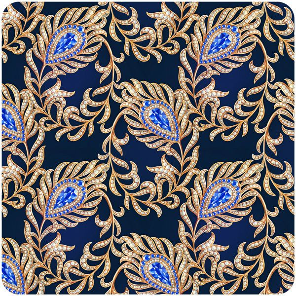 bluebird feather patterns by Natalia Tyulkina, via Behance