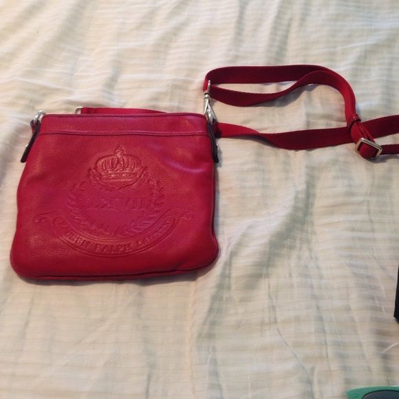 Red Ralph Lauren Purse-FLASH SALE!!! no stains and hardly used! Ralph Lauren Bags