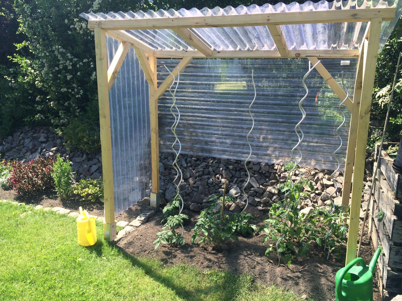 bildergebnis f r tomatenhaus selber bauen garten pinterest tuin. Black Bedroom Furniture Sets. Home Design Ideas