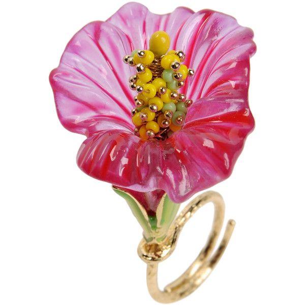 LA HORMIGA Ring ($70) ❤ liked on Polyvore