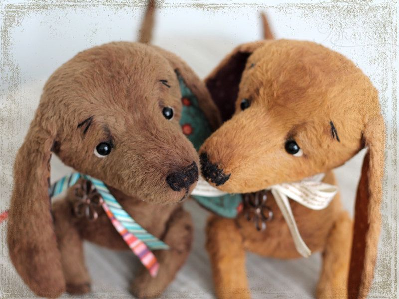 PATTERN Download to create Teddy like Dachshund 9 inches by zverrriki on Etsy https://www.etsy.com/listing/81354945/pattern-download-to-create-teddy-like