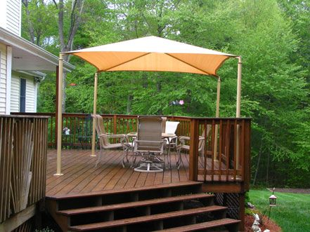Vela Canopies For The Deck Patio Shade Patio Garden Spaces