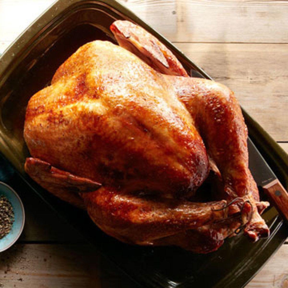 Buttermilk Marinated Turkey With Onion Gravy Recipe Marinated Turkey Christmas Turkey Recipes Turkey Recipes