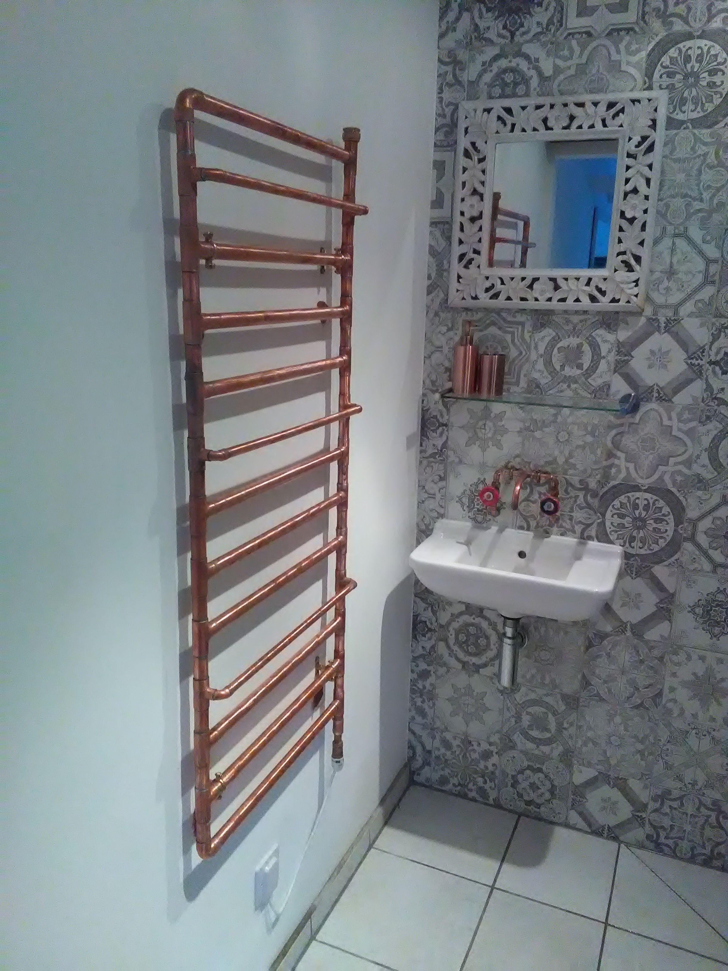 home made copper radiator calorifere pinterest radiators bath and pipe furniture. Black Bedroom Furniture Sets. Home Design Ideas