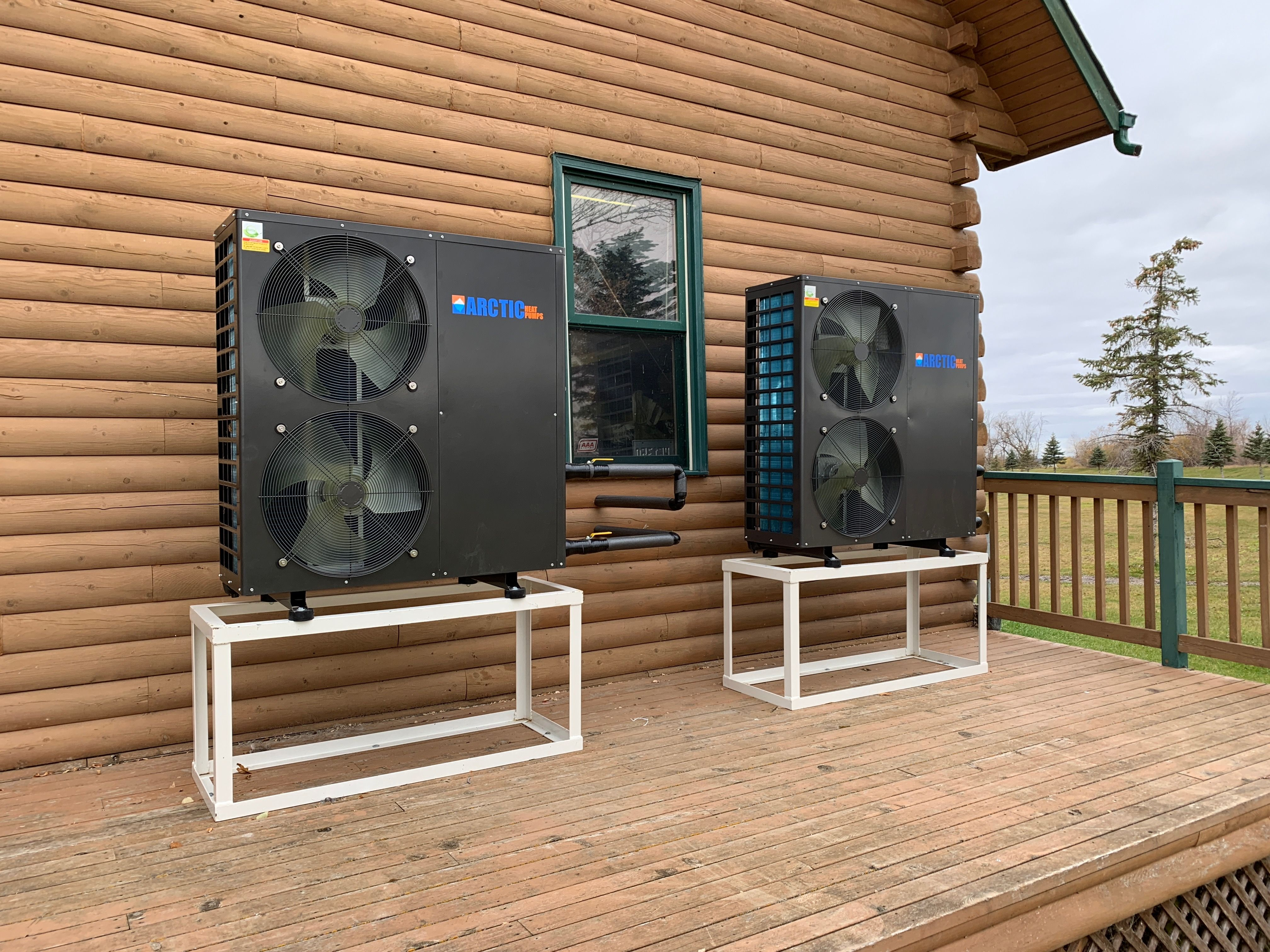 Dual cold weather heat pump good to 30 C, https//www