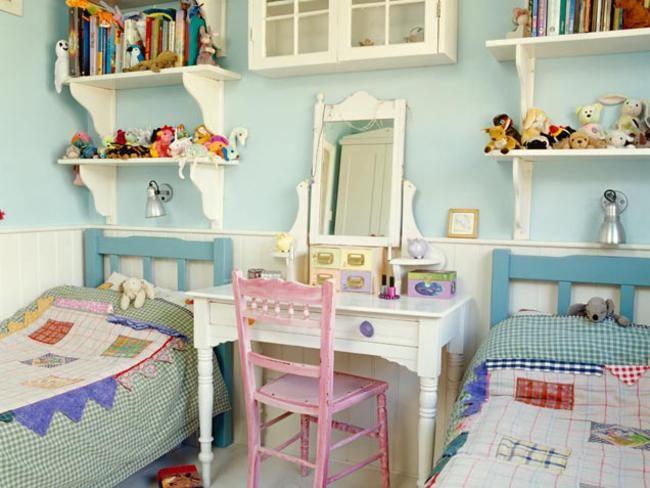 Kids Shared Room Ideas Part - 26: Kids Shared Bedroom Ideas   Kids Room Design Shared Bedroom Design Ideas  For Kids650x488 .