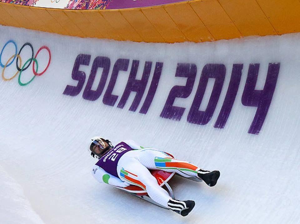 The luge Sochi, Winter olympics 2014, Olympics